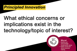 What ethical concerns of implications exist in teh tachnology/topic of interest.